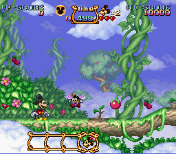 Magical Quest Starring Mickey Mouse, The - First stage - User Screenshot